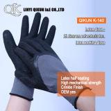 K-162 13 манометры полиэстер / нейлон PU покрытием рабочие перчатки