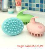 Cepillo de Pelo de plástico de mano barata, cepillo de ducha