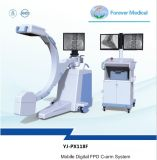 Mobile do braço em C do sistema de raios X com o DPF