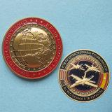 Изготовленный на заказ античная латунная монетка возможности металла сувенира (Ele-C204)