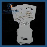 Cartão de cartão de jóias com cartão personalizado (CMG-058)