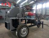De Mobiele Houten Verpletterende Machine van de dieselmotor