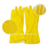 Долго водонепроницаемые защитные перчатки из латекса мойки домашних хозяйств