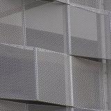 Feuilles perforées en acier galvanisé en acier inoxydable, panneau perforé