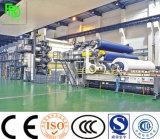 3600mm Tipo de Fourdrinier máquina de hacer el papel de escritura de alta capacidad de producción de papel y de la planta de reciclaje de residuos de papel