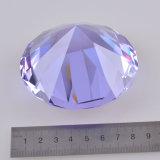낭만주의 결혼식 호의 자주색 수정같은 유리 다이아몬드