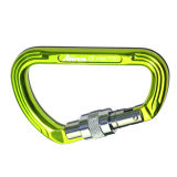 Good Quality Automatic Safety Carabiner를 가진 다채로운 26kn