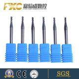 Fxc 4 flautas Carbide Micro carboneto plana fresa
