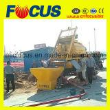 bomba concreta 20-40cum/H con el mezclador concreto Js750