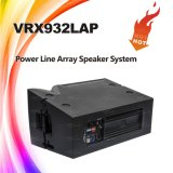 12in Vrx932lapの実行中の屋外ラインアレイDJの健全な装置