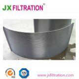 Tela de curvatura da peneira para tratamento de águas residuais