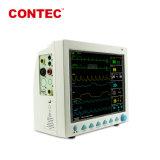 Contec CMS8000 Multi-Parameter bon marché à côté de l'ECG du moniteur patient cardiaque portable FDA