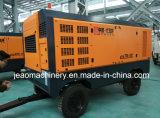 Verwendet für Bergbau-Ölplattform für Schrauben-Dieselluftverdichter der Rad-700cfm u. 18bar