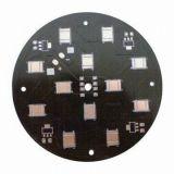 LEDアルミニウム黒いSoldermask PCBのボード