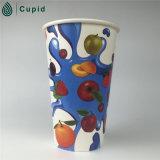 Taza de café caliente del papel de la bebida 16 onzas