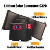 Mini portable Smart 150Wh générateur solaire avec panneau solaire 20W