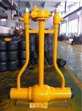 空気非JIS F7358 Dn50 Wcbの鋳鉄の高い等級の産業燃料リターン鋳造物鋼鉄小切手弁