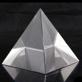 Elegante Cuarzo claro pirámide de cristal pisapapeles pirámide de cristal