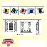 IP68 Réflecteur haute luminosité LED clignotante solaire goujon de route