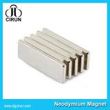 De kleine Magneet van het Neodymium van de Zeldzame aarde van het Blok Sterke
