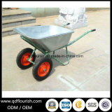 ロシアの市場Wb6430のための二重一輪車のトロリー手押し車