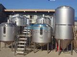 産業機械装置の円錐発酵槽タンクビール醸造装置(ACE-THG-K5)