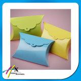 Dulce regalo almohada caja de papel plegable de papel