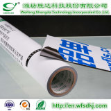 Película protectora de PE/PVC/Pet/BOPP/PP para el perfil de aluminio/la placa de aluminio/el perfil aplicado con brocha