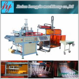 Hy-540760 Plastic Tray Thermoforming Machine con Automatic Cutting Counting Stacking