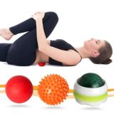 Massaggio Pressure Point Roller Balls Set di 3 per Stress Relief e Relaxing Tight Muscles