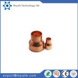 Reductor de agua de cobre, excéntrico reductor de cobre, cobre, el adaptador reductor