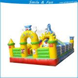 Mini cavalier combiné gonflable, glisseur combiné gonflable, parc d'attractions