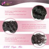 Emaranhado e derramamento do Weave brasileiro cru natural livre do cabelo