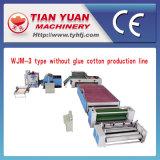 Máquinas de fabricación de guata de colchón no tejidas