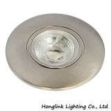 Het ronde LEIDENE van de MAÏSKOLF van Dimmable van het Aluminium 4W Licht van de Keuken voor het Kabinet van de Kast of belde Kap