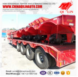 Трейлер Lowbed 4 Axles сверхмощный/Gandola Remolque