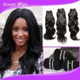 Top Quality保証された8A Grade Virgin Human Hair Natural Waveのモンゴル語Hair