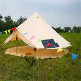 Baumwollsegeltuch-Zelt-wasserdichte im Freien kampierende Rundzelte