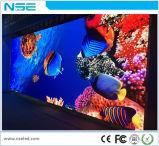 Palco de Eventos de fundo P4mm LED de Instalação fixa no interior da parede de vídeo
