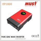 2kVA/1600W DC24V reine Sinus-Wellen-Energien-Inverter-Hochfrequenz