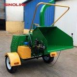 Industriële Chipper van de Ontvezelmachine van de Dieselmotor van Dwc 22HP ATV Houten