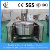 Sartén Stirring planetario de la calefacción electromágnetica automática del acero inoxidable 304