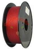 Bueno T en espiral de cristal rojo de 3,0 mm de filamento de impresión 3D