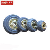 Rotella di gomma solida Rfw20050/Rfw15050/Rfw12750/Rfw10050 della carriola di alta qualità
