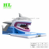 3D Shark надувные водными горками для детей