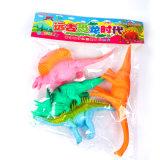 Выдвиженческая изготовленный на заказ мягкая пластичная игрушка винила динозавра для малышей