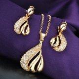 Joyería determinada elegante de la imitación de la Arabia Saudita de la joyería del pendiente y del collar
