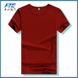 t-셔츠 100%년 면 승진 둥근 목 인쇄
