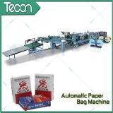 Machine à fabriquer des sacs en papier à moteur à haute efficacité et à moteur