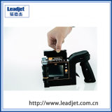 Dispositivo portátil de desempenho de custo elevado número de lote impressora a jato de tinta